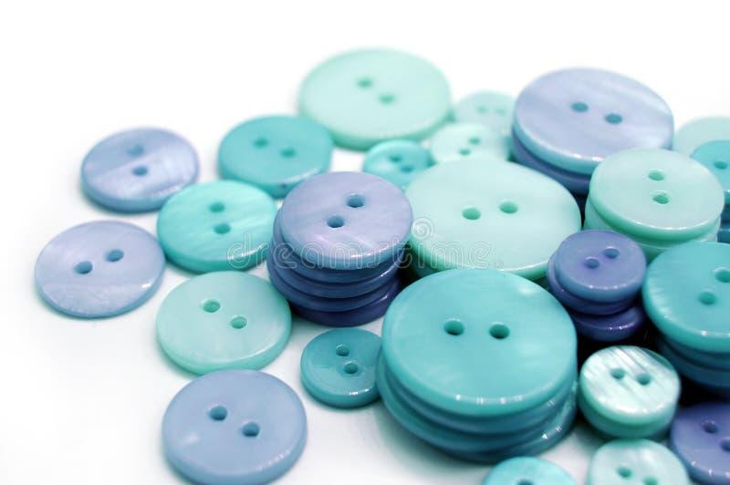 Blaue Tasten lizenzfreies stockfoto