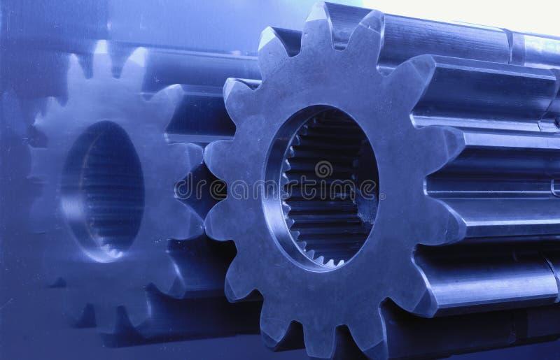 Blaue Technik stockbilder