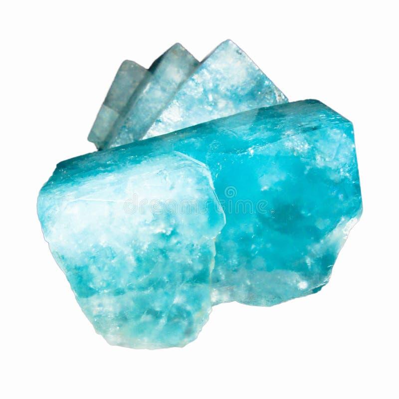Blaue Topasfelsen stockbild