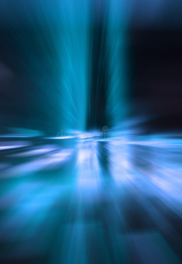 Blaue Turbulenz lizenzfreie stockfotos