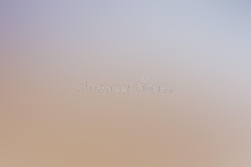 Blaue und beige Steigung des leichten netten Pastellhintergrundes, für Design und Dekoration stockbild