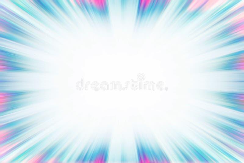 Blaue und rosa starburst Explosionsgrenze lizenzfreie stockfotos