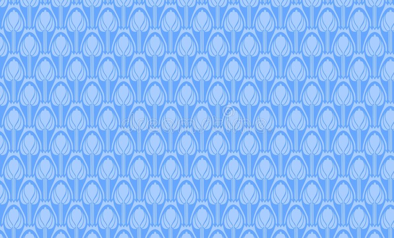 Blaue Verzierung lizenzfreie abbildung