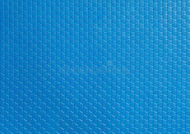 Blaue Weichgummibodenbeschaffenheit stockfotografie