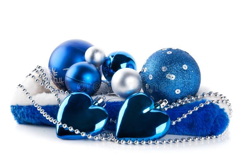 Blaue weihnachtskugeln stockbild bild von nahaufnahme 22688531 - Blaue christbaumkugeln ...