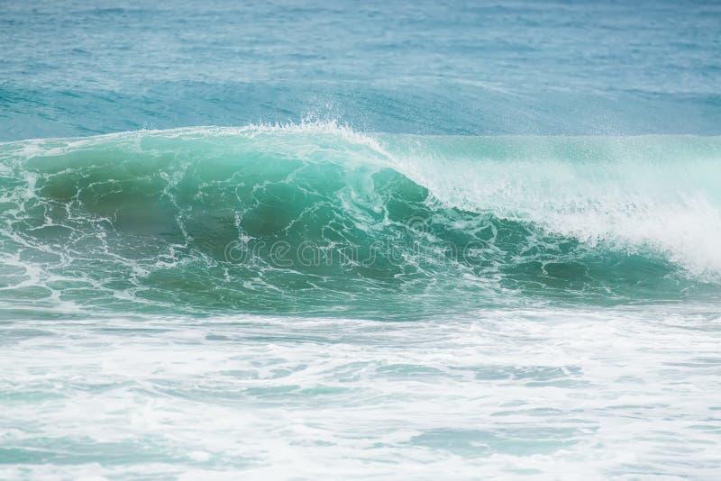 Blaue Welle stockfotos