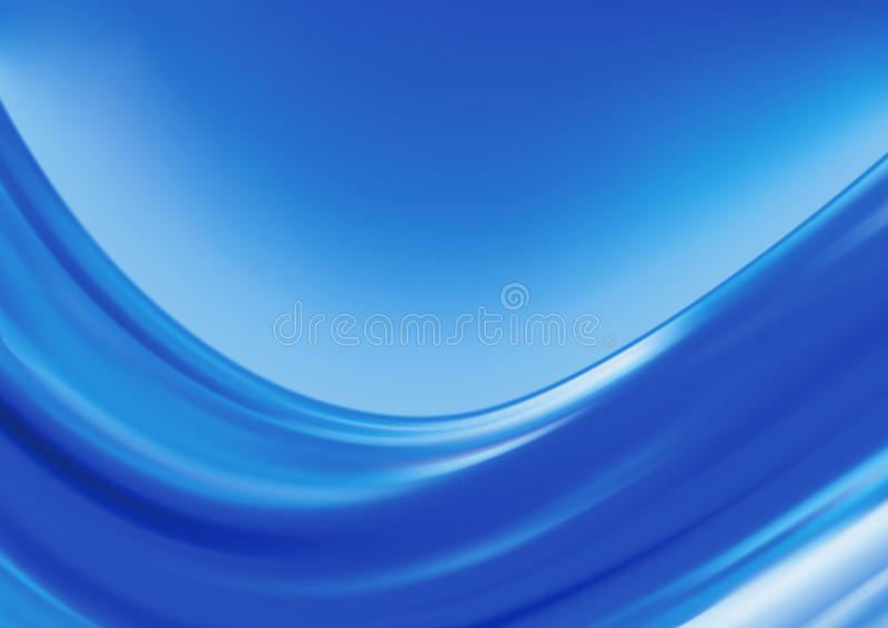 Blaue Wellen lizenzfreie abbildung