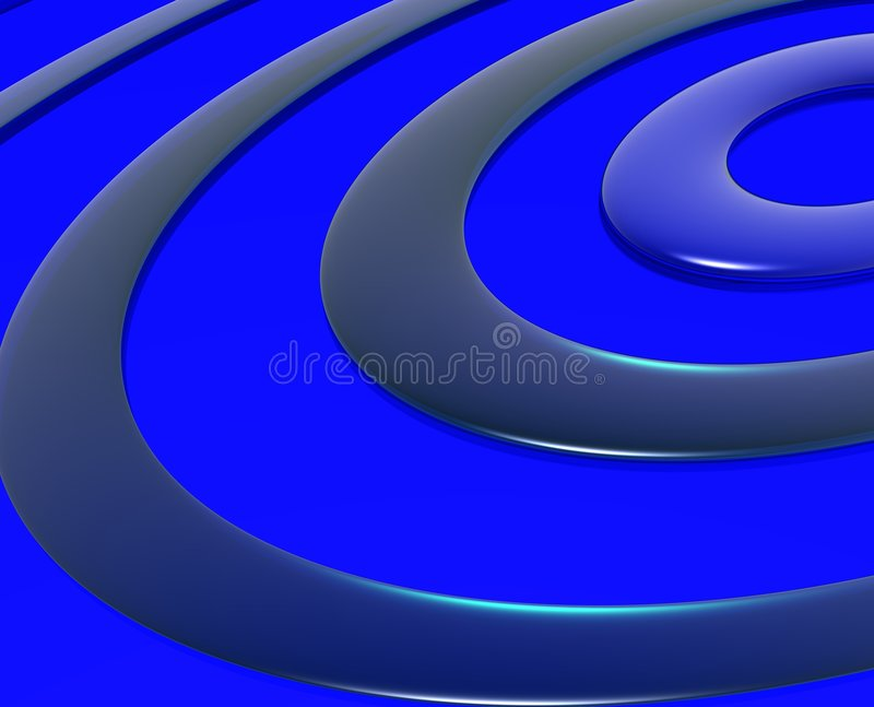 Blaue Wellen vektor abbildung