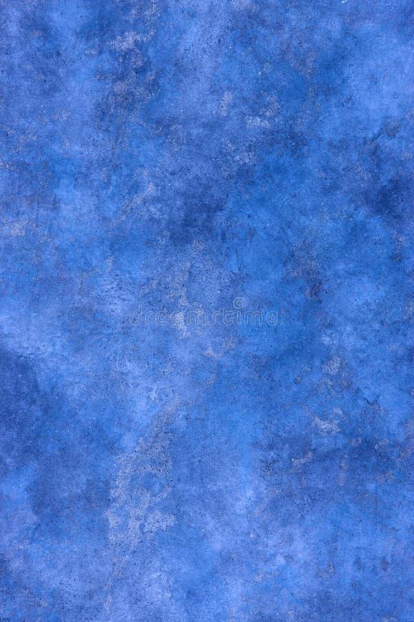 Blauer abstrakter gemalter Hintergrund
