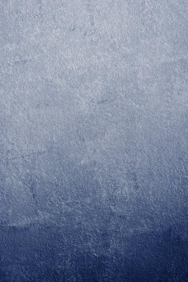 Blauer abstrakter Hintergrund des dunklen Gipses lizenzfreie stockfotos