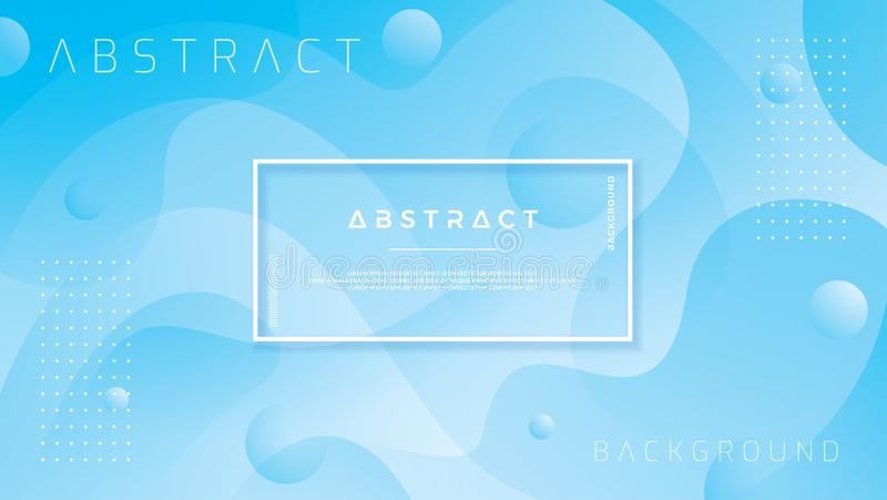 Blauer abstrakter Hintergrund ist für Netz, Titel, Netzfahne, Landungsseite, Hintergrund, Plakate, Tapete, Webseitenschablone pas vektor abbildung