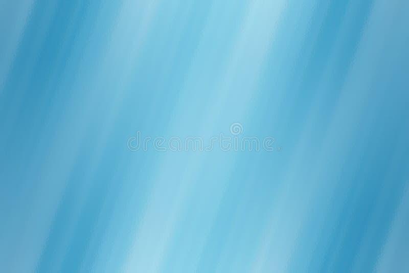 Blauer abstrakter Hintergrund mit Glasbeschaffenheit, unscharfe Musterschablone stock abbildung