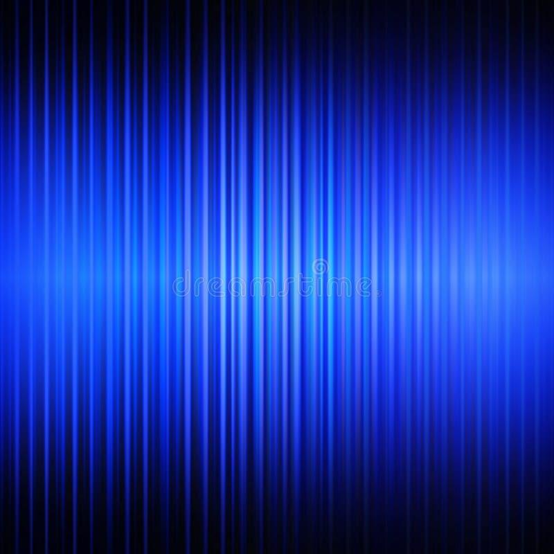 Blauer abstrakter linearer Hintergrund