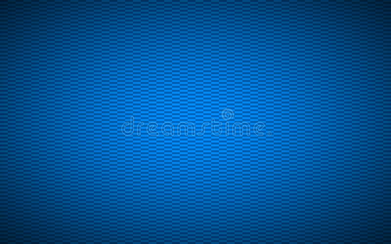 Blauer abstrakter strukturierter rechteckiger Hintergrund stock abbildung