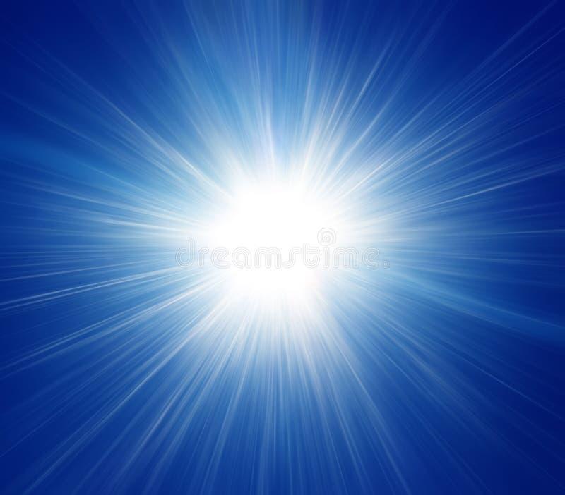 Blauer Böe-Hintergrund