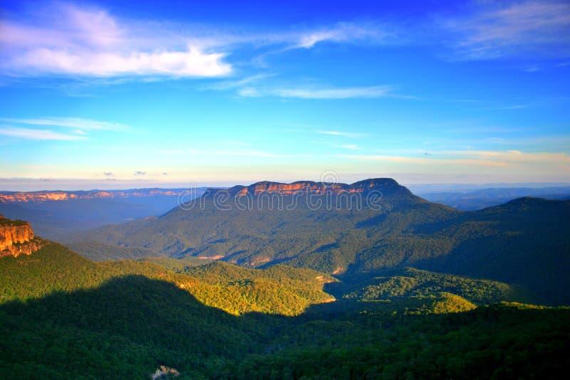 Blauer Berg, NSW, Australien lizenzfreie stockbilder