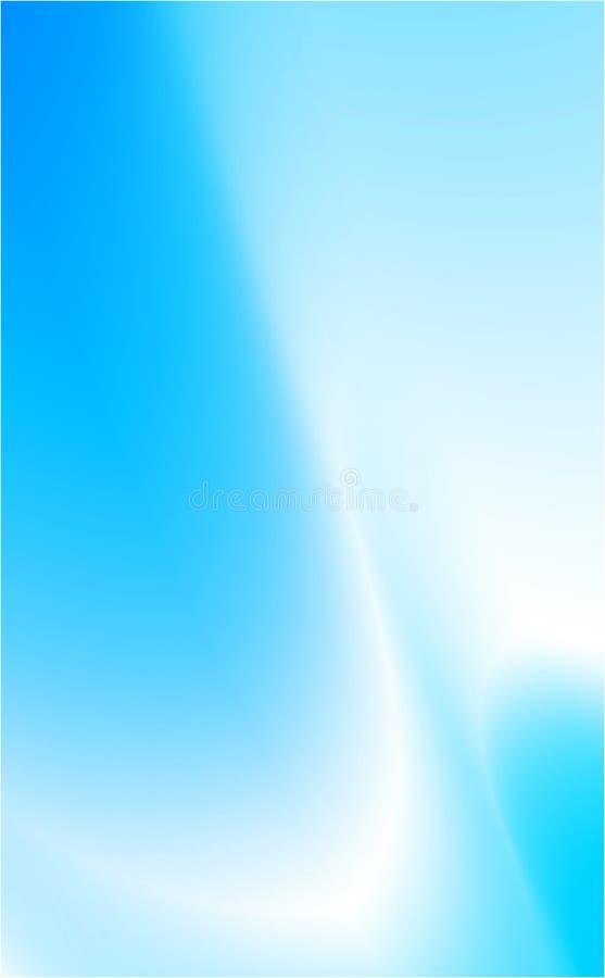 Blauer Bewegungshintergrund lizenzfreie abbildung