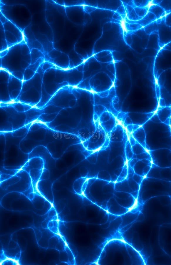 Blauer Blitz vektor abbildung