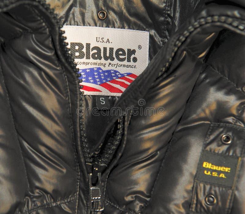 Blauer brand royalty free stock image