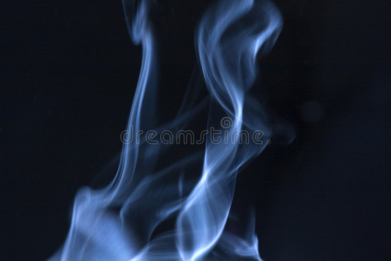 Blauer Dampf C lizenzfreies stockbild
