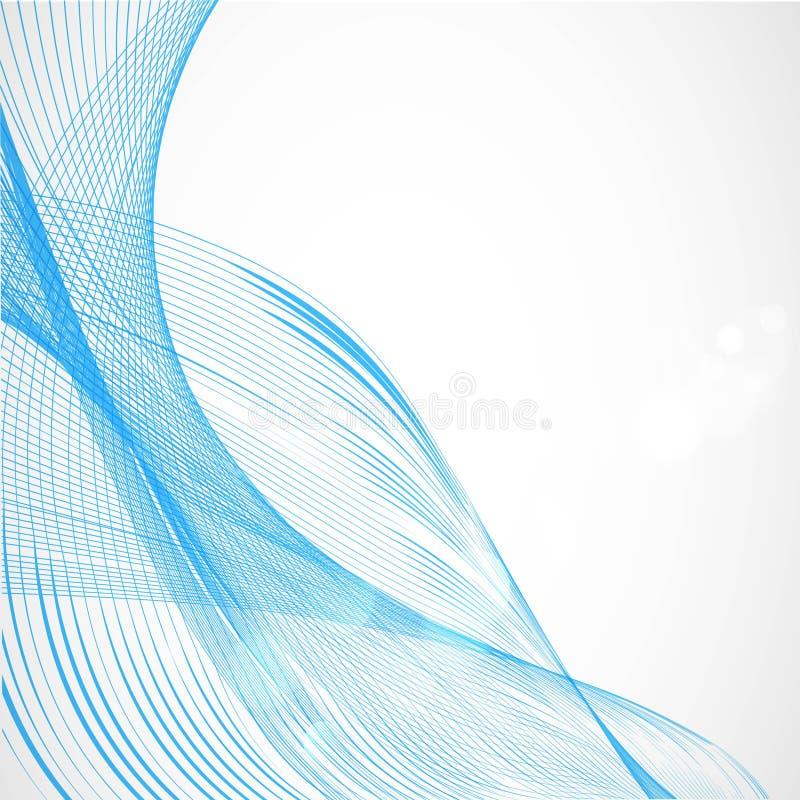 Blauer Draht-Hintergrund vektor abbildung. Illustration von blau ...