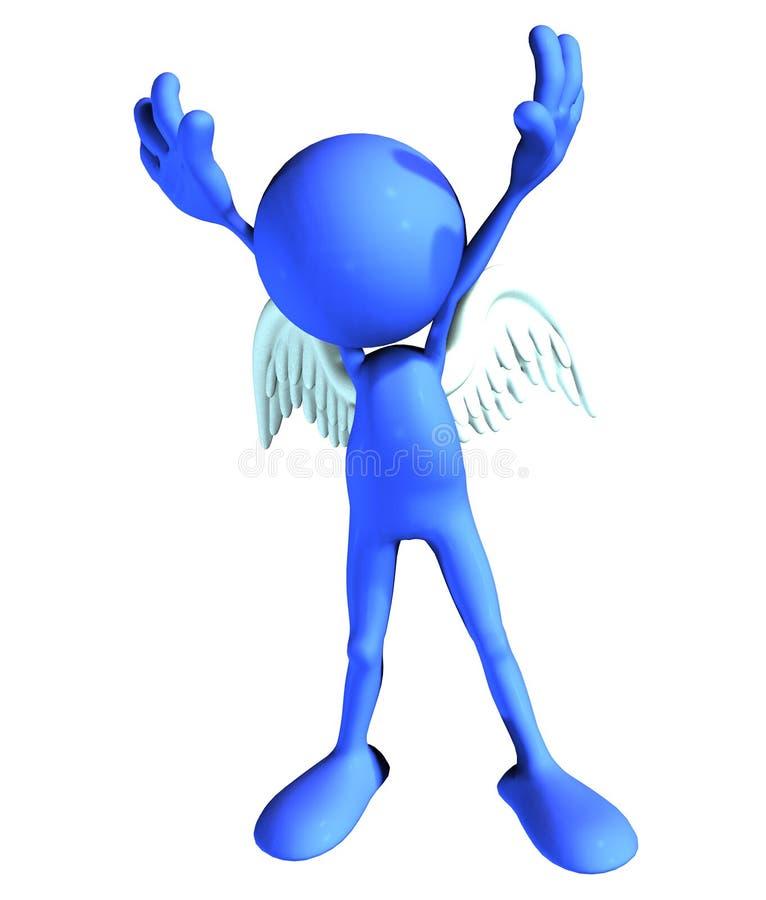 Blauer Engel stock abbildung