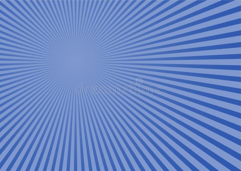 Blauer entfernter Hintergrund lizenzfreie abbildung