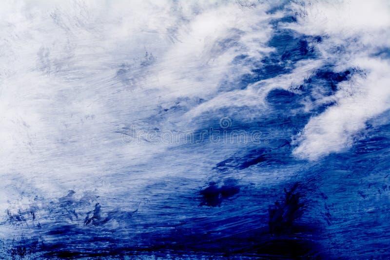 Blauer Farbenlack lizenzfreie stockfotos
