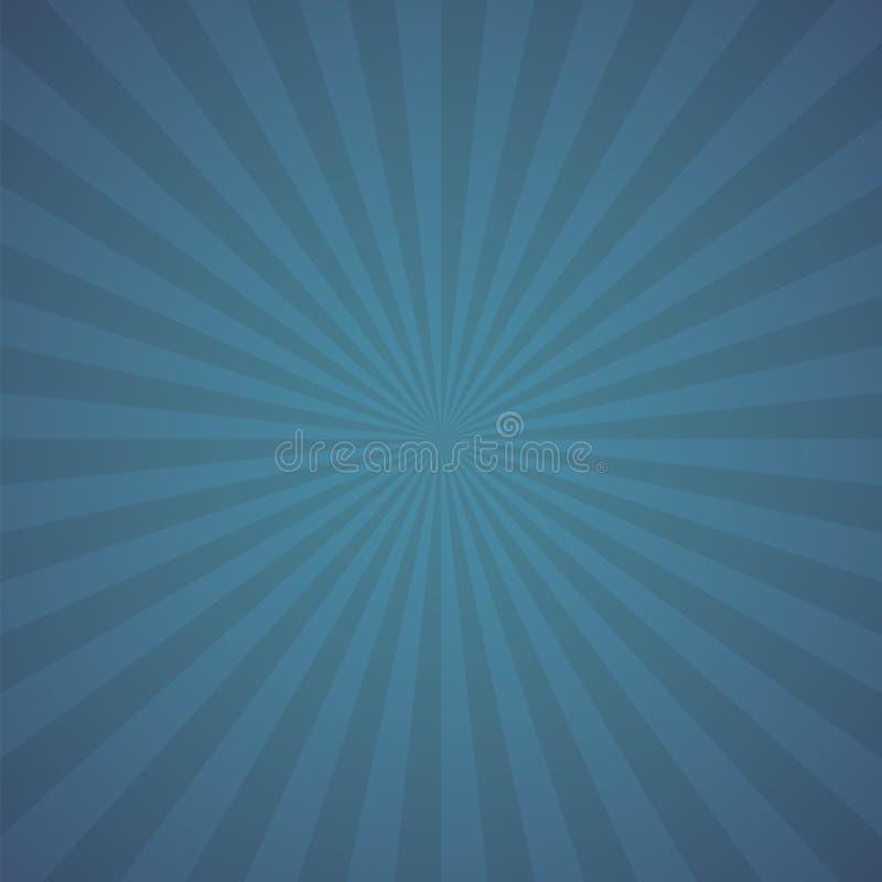 Blauer Farbexplosionshintergrund stock abbildung