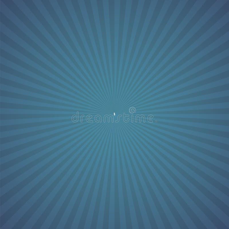 Blauer Farbexplosionshintergrund Auch im corel abgehobenen Betrag stock abbildung