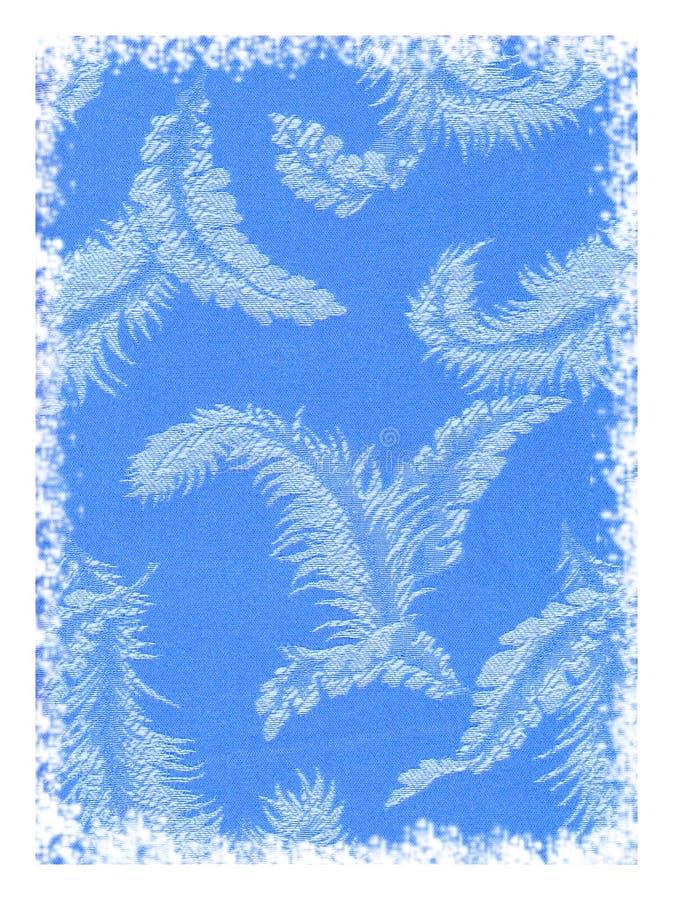 Blauer Federhintergrund stockbild