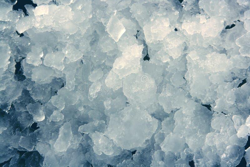 Blauer gestapeltes Muster der Eisbeschaffenheit Hintergrund lizenzfreie stockfotos