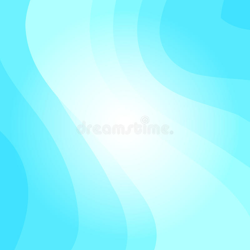 Blauer gewellter Vektorhintergrund stock abbildung