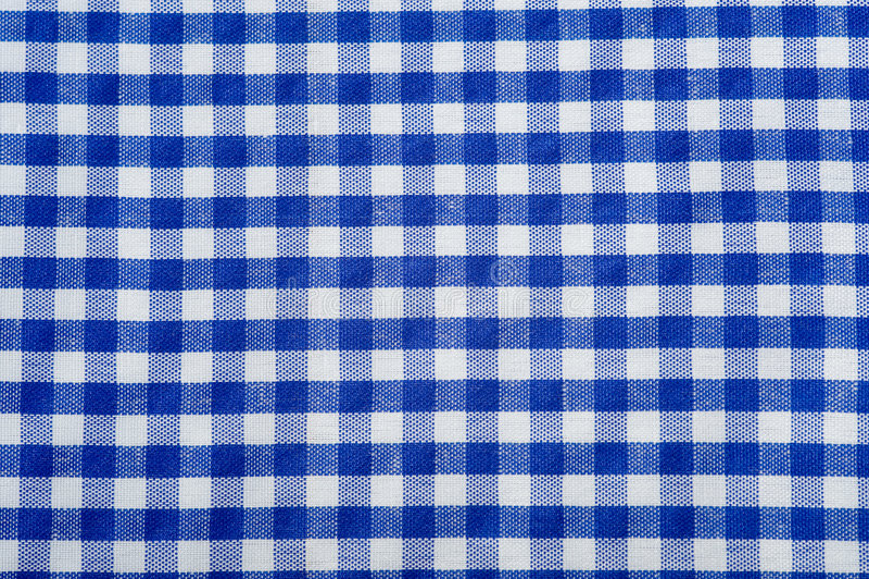 Blauer Gingham-Hintergrund lizenzfreie stockbilder
