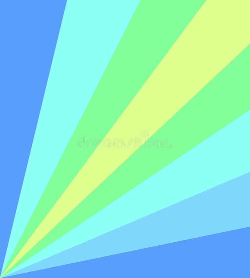 Blauer grün-blauer Hintergrund lizenzfreie stockfotografie