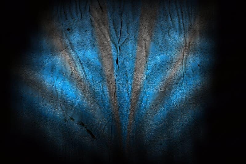 Blauer Grunge Hintergrund stock abbildung