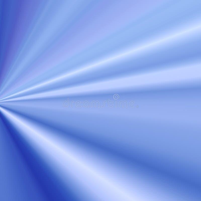 Blauer heller Strahl stock abbildung