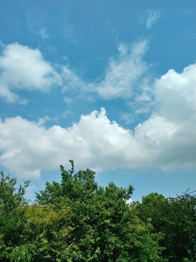 Blauer Himmel lizenzfreie stockbilder