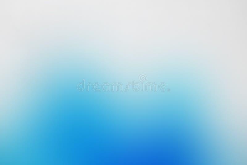 Blauer Himmel des abstrakten Hintergrundes der Steigung, Eis, Tinte, Beschaffenheit mit Kopienraum stock abbildung