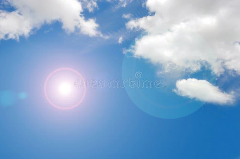 Download Blauer Himmel u. Wolke stockbild. Bild von imagine, kreativ - 26361227