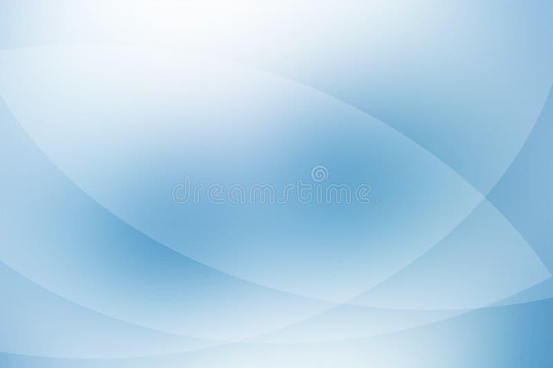 Blauer Hintergrund. stock abbildung