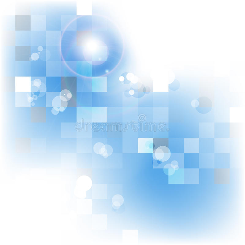 Blauer Hintergrund vektor abbildung