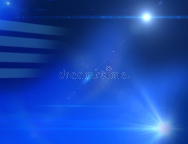 Download Blauer Hintergrund 02 stock abbildung. Illustration von hell - 33063498