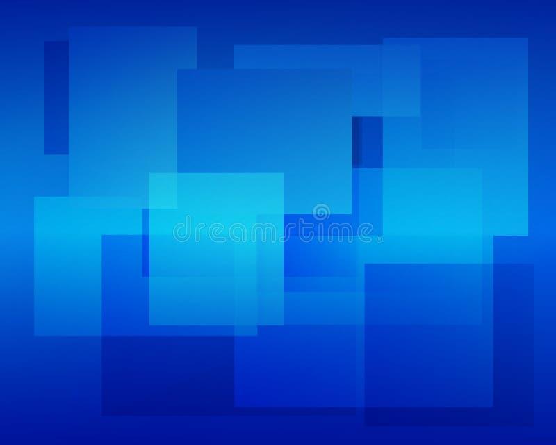 Blauer Hintergrund lizenzfreie abbildung