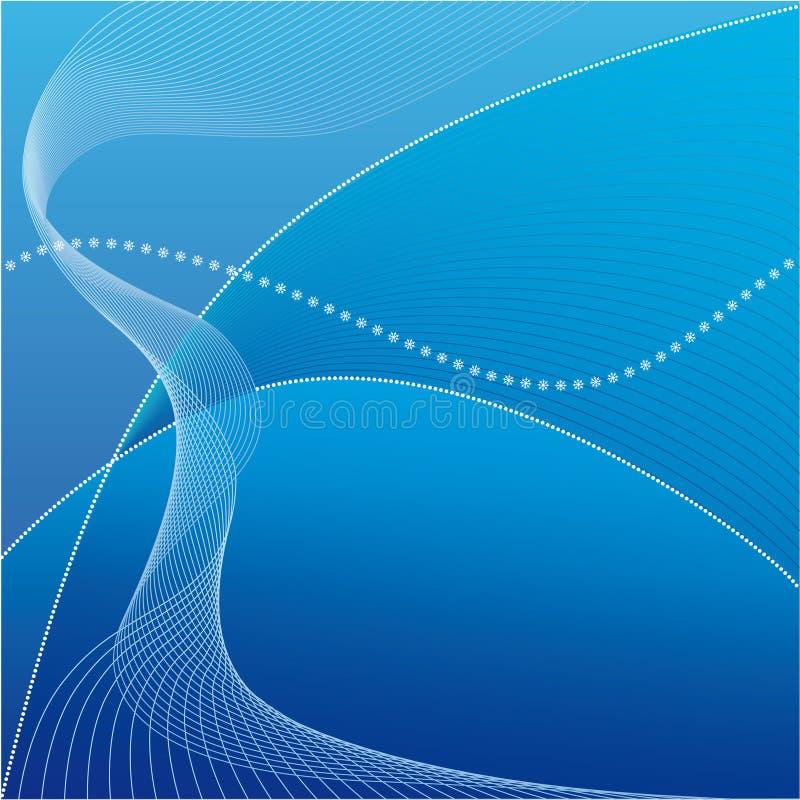 Download Blauer Hintergrund vektor abbildung. Bild von strahlen - 7028744