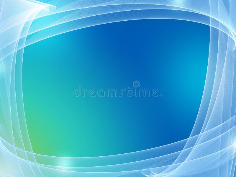 Blauer Hintergrund gestaltet im Netz stock abbildung