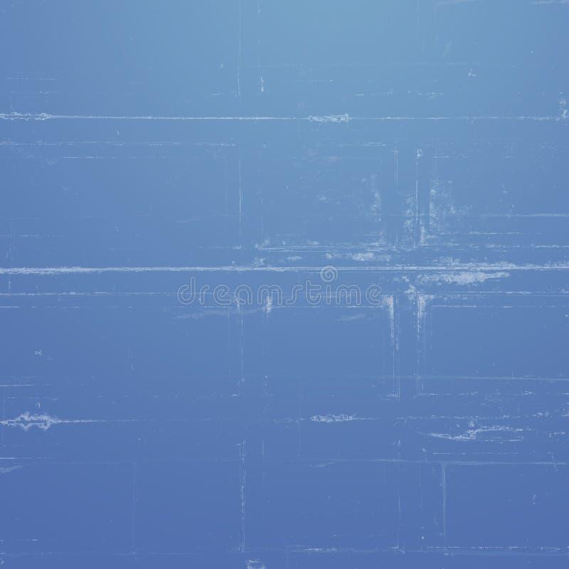 Blauer Hintergrund mit weißen vertikalen Streifen lizenzfreie stockbilder