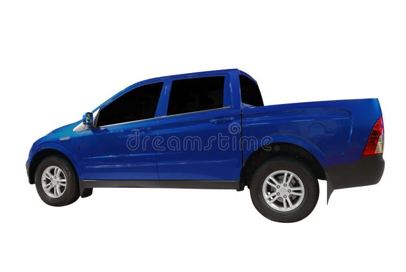 Blauer Kleintransporter lizenzfreies stockbild
