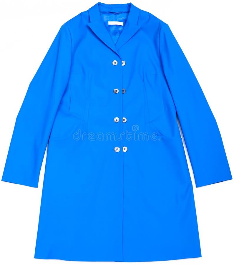 Blauer Mantel lizenzfreies stockfoto