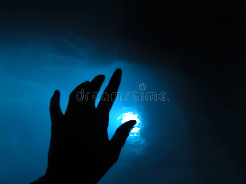 Blauer Moment lizenzfreie stockfotos